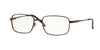 Sferoflex SF2197 Square Eyeglasses  355-MATTE - DARK BROWN 54-18-140 - Color Map brown