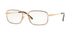 Sferoflex SF2197 Square Eyeglasses  S710-GOLD TABACCO 54-18-140 - Color Map havana
