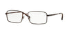 Sferoflex SF2248 Square Eyeglasses  355-MATTE - DARK BROWN 55-17-145 - Color Map brown