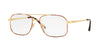 Sferoflex SF2249 Square Eyeglasses  S710-GOLD TABACCO 57-16-145 - Color Map havana