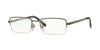 Sferoflex SF2261 Rectangle Eyeglasses  268-GUNMETAL 54-18-145 - Color Map gunmetal