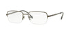 Sferoflex SF2270 Rectangle Eyeglasses  231-MATTE GUNMETAL 54-18-145 - Color Map gunmetal