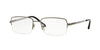 Sferoflex SF2270 Rectangle Eyeglasses  268-GUNMETAL 54-18-145 - Color Map gunmetal