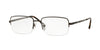 Sferoflex SF2270 Rectangle Eyeglasses  441-BLACK COCOA 54-18-145 - Color Map brown
