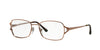 Sferoflex SF2576 Butterfly Eyeglasses  488-SHINY COPPER 54-17-140 - Color Map bronze/copper