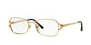 Sferoflex SF2576 Butterfly Eyeglasses  493-SHINY GOLD 54-17-140 - Color Map gold