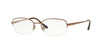 Sferoflex SF2579 Oval Eyeglasses  472-BROWN 53-17-135 - Color Map brown