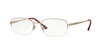 Sferoflex SF2579 Oval Eyeglasses  491-SILVER 53-17-135 - Color Map silver