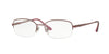 Sferoflex SF2579 Oval Eyeglasses  497-PURPLE 53-17-135 - Color Map purple/reddish
