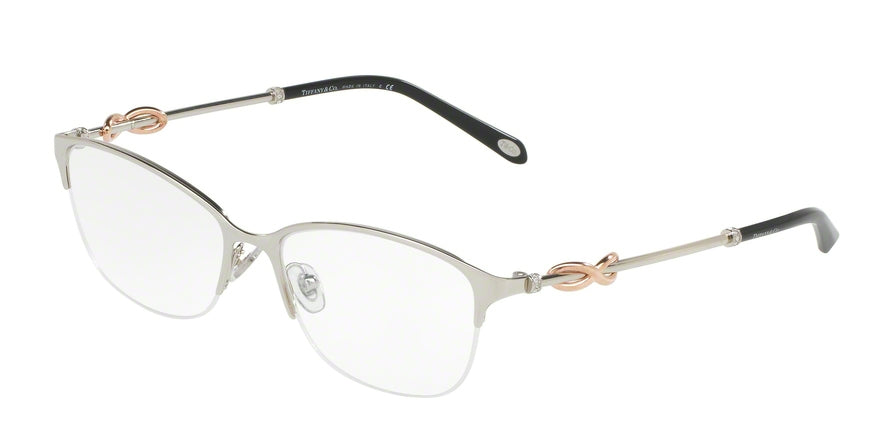 Tiffany TF1122B Oval Eyeglasses  6001-SILVER 54-16-140 - Color Map silver