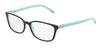 Tiffany TF2094 Square Eyeglasses  8055-BLACK/BLUE 54-17-140 - Color Map black