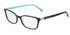 Tiffany TF2094 Square Eyeglasses  8134-HAVANA/BLUE 52-17-140 - Color Map havana