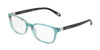 Tiffany TF2094 Square Eyeglasses  8239-POIS BLACK BLUE 54-17-140 - Color Map blue