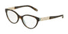 Tiffany TF2129 Oval Eyeglasses  8134-HAVANA/BLUE 53-17-140 - Color Map havana