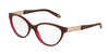 Tiffany TF2129 Oval Eyeglasses  8173-PEARL PLUM 51-17-140 - Color Map violet