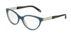 Tiffany TF2129 Oval Eyeglasses  8189-PEARL AVIO 53-17-140 - Color Map blue