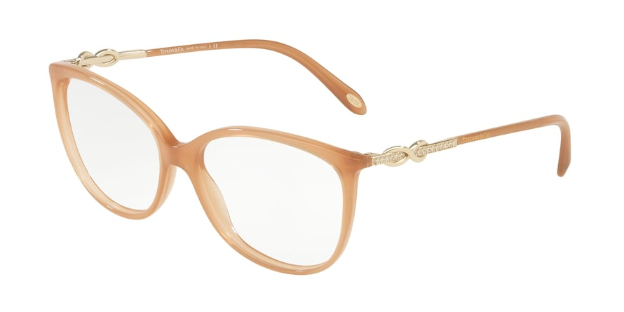 Tiffany TF2143B Oval Eyeglasses  8252-OPAL CAMEL 55-15-140 - Color Map opal