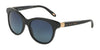 Tiffany TF4125 Round Sunglasses  80014U-MATTE BLACK 52-18-140 - Color Map black