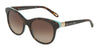 Tiffany TF4125 Round Sunglasses  81343B-HAVANA/BLUE 52-18-140 - Color Map havana