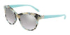 Tiffany TF4125 Round Sunglasses  82136V-BEIGE HAVANA SPOTTED BLUE 52-18-140 - Color Map havana