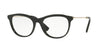 Valentino VA1006 Oval Eyeglasses  3003-LIGHT GOLD/BLACK 53-18-140 - Color Map black