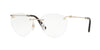 Valentino VA1008 Cat Eye Eyeglasses  3003-LIGHT GOLD 54-17-140 - Color Map gold