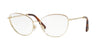 Valentino VA1010 Butterfly Eyeglasses  3035-LIGHT GOLD PINK 57-17-140 - Color Map pink