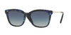 Valentino VA2011 Square Sunglasses  30034L-HAVANA BLUE 54-18-140 - Color Map blue