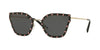 Valentino VA2028 Butterfly Sunglasses  300387-LIGHT GOLD 59-17-140 - Color Map grey