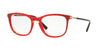 Valentino VA3003 Round Eyeglasses  5033-RED MARBLE GRADIENT BLACK 53-19-140 - Color Map yellow