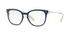 Valentino VA3006A Cat Eye Eyeglasses  5028-TOP BLUE ON CRYSTAL 51-18-135 - Color Map blue