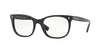 Valentino VA3010 Rectangle Eyeglasses  5001-BLACK 52-20-140 - Color Map black
