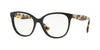 Valentino VA3014 Square Eyeglasses  5001-BLACK 53-17-140 - Color Map black