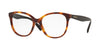 Valentino VA3014 Square Eyeglasses  5011-HAVANA 53-17-140 - Color Map brown