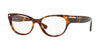 Valentino VA3020 Oval Eyeglasses  5011-LIGHT HAVANA 54-17-140 - Color Map havana