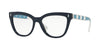 Valentino VA3025 Cat Eye Eyeglasses  5034-BLUE 53-17-140 - Color Map blue