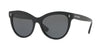 Valentino VA4013A Cat Eye Sunglasses  500187-BLACK 54-18-140 - Color Map black