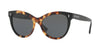 Valentino VA4013A Cat Eye Sunglasses  500387-HAVANA YELLOW BLACK 54-18-140 - Color Map havana