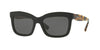 Valentino VA4024A Rectangle Sunglasses  500187-BLACK 52-19-140 - Color Map black