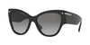Valentino VA4028 Cat Eye Sunglasses  500111-BLACK 55-17-140 - Color Map black