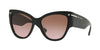 Valentino VA4028 Cat Eye Sunglasses  500114-BLACK 55-17-140 - Color Map black
