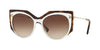 Valentino VA4033 Irregular Sunglasses  508113-CRYSTAL/HAVANA 53-18-140 - Color Map havana