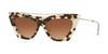 Valentino VA4041 Cat Eye Sunglasses  509713-HAVANA BROWN 53-16-140 - Color Map brown