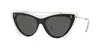 Valentino VA4041 Cat Eye Sunglasses  509987-CRYSTAL BLACK 53-16-140 - Color Map black