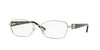 Versace VE1210BM Butterfly Eyeglasses  1000-SILVER 52-16-135 - Color Map silver