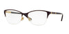 Versace VE1218 Irregular Eyeglasses  1345-VIOLET/GOLD 53-17-140 - Color Map violet