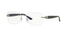 Versace VE1225B Butterfly Eyeglasses  1000-SILVER 51-16-135 - Color Map silver