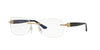 Versace VE1225B Butterfly Eyeglasses  1002-GOLD 53-16-135 - Color Map gold