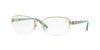 Versace VE1230B Rectangle Eyeglasses  1362-PALE GOLD 54-17-135 - Color Map gold