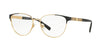 Versace VE1238 Phantos Eyeglasses  1002-GOLD 54-16-140 - Color Map gold
